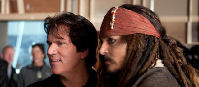Rob Marshall und Johnny Depp