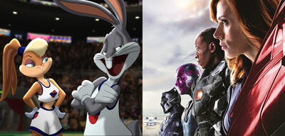 Space Jam/Captain America: Civil War