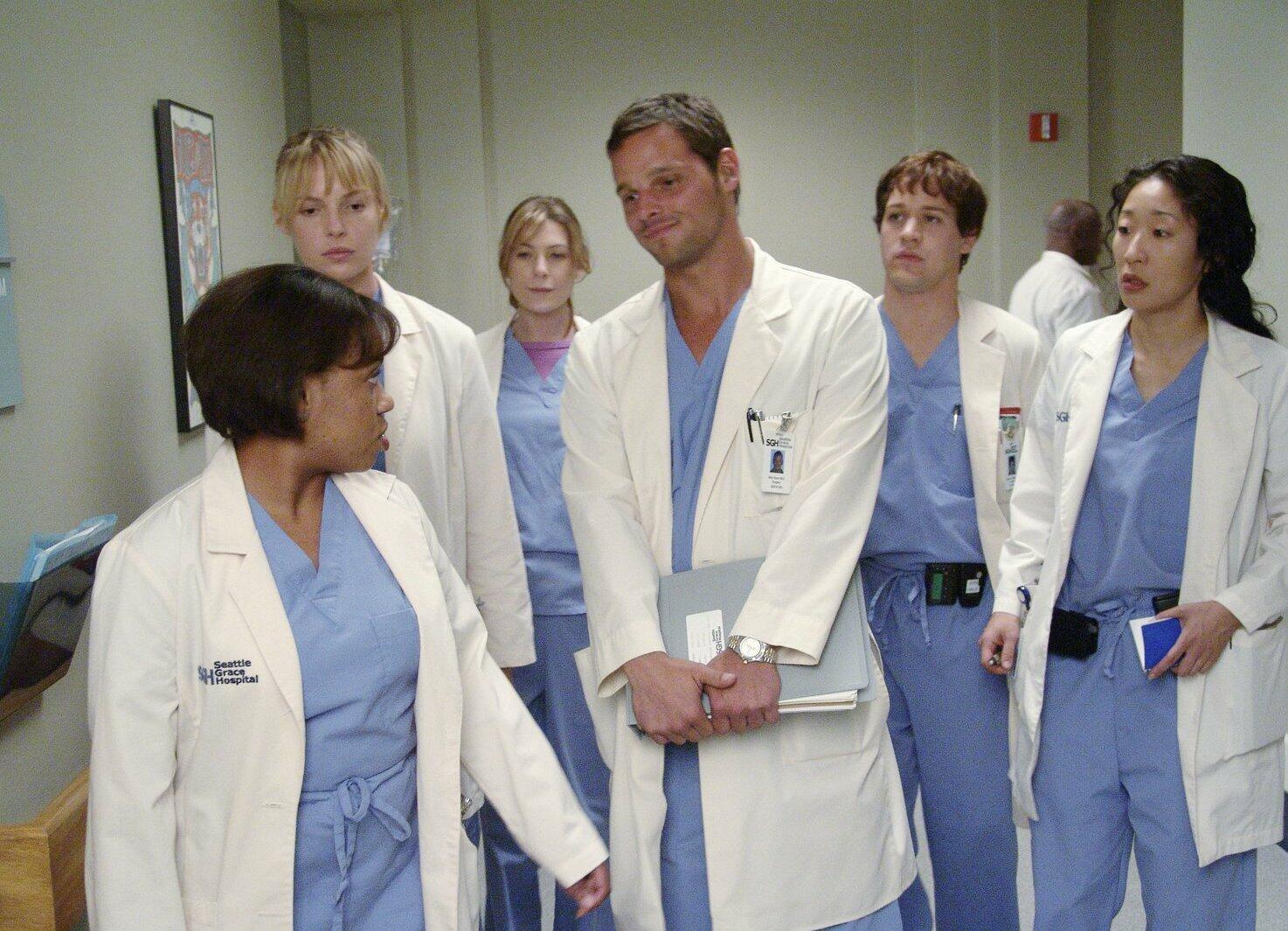Greys Anatomy Staffel 1