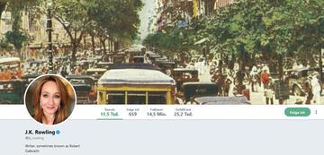 J.K. Rowlings Twitter-Profil-Header (Stand: 06.11.2018)