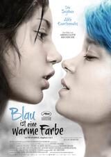 Blau ist eine warme Farbe - Poster