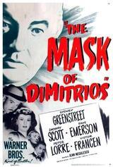 Die Maske des Dimitrios - Poster
