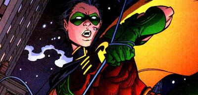 Robin im Comic