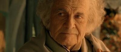 Ian Holm als Bilbo Beutlin