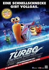 Turbo - Kleine Schnecke, großer Traum - Poster