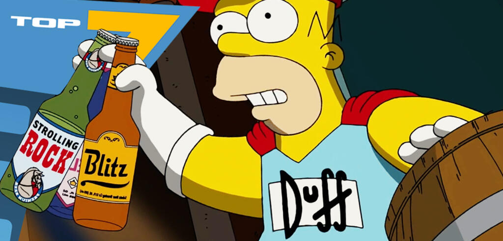 Homer Simpson als Duffman!