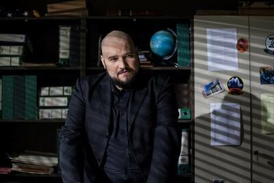 "Vjekoslav Katusin als Oscar Kovac in ""DEAD END: At The End We Die"""