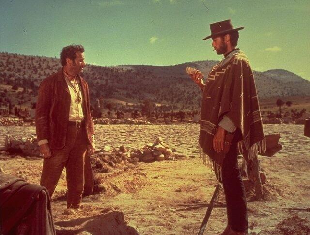 Zwei glorreiche Halunken mit Clint Eastwood und Eli Wallach