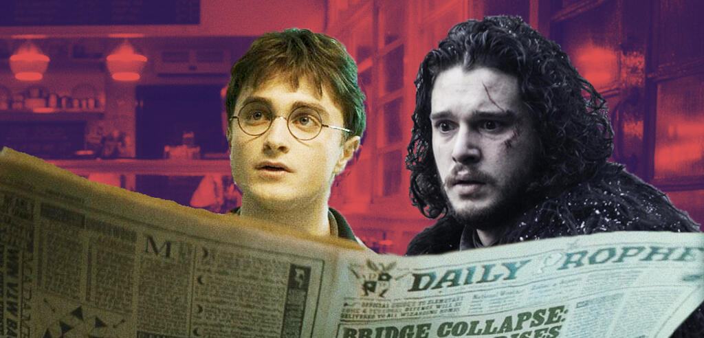 Harry Potter und Game of Thrones in einem Stil?