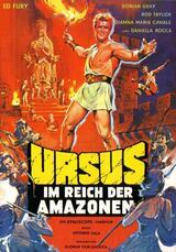 Ursus im Reich der Amazonen - Poster