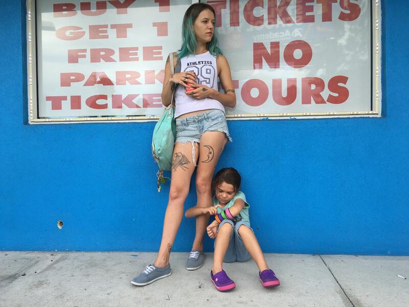 The Florida Project mit Bria Vinaite und Brooklynn Prince