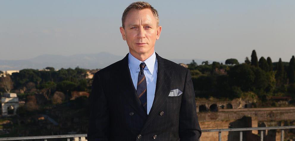 Daniel Craig in Rom