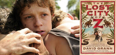 Tom Holland / Cover The Lost City of Z
