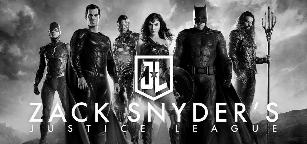 Zack Snyder's Justice League mit Ben Affleck, Gal Gadot, Henry Cavill, Jason Momoa, Ezra Miller und Ray Fisher