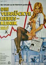 Die verrückte Liebesklinik - Poster