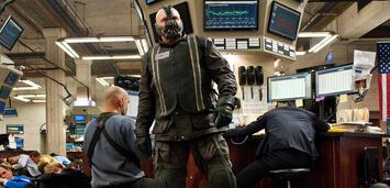 Bild zu:  Tom Hardy als Bane in The Dark Knight Rises