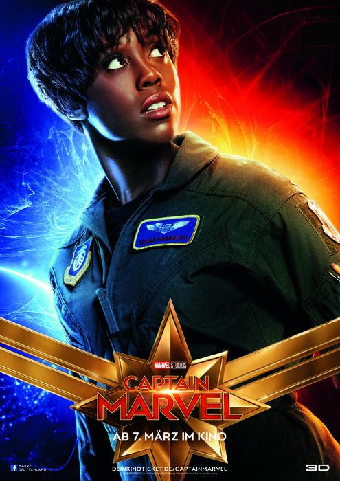 Captain Marvel mit Lashana Lynch