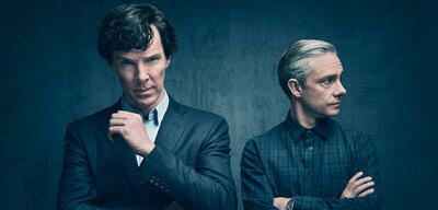 Sherlock, mit Benedict Cumberbatch