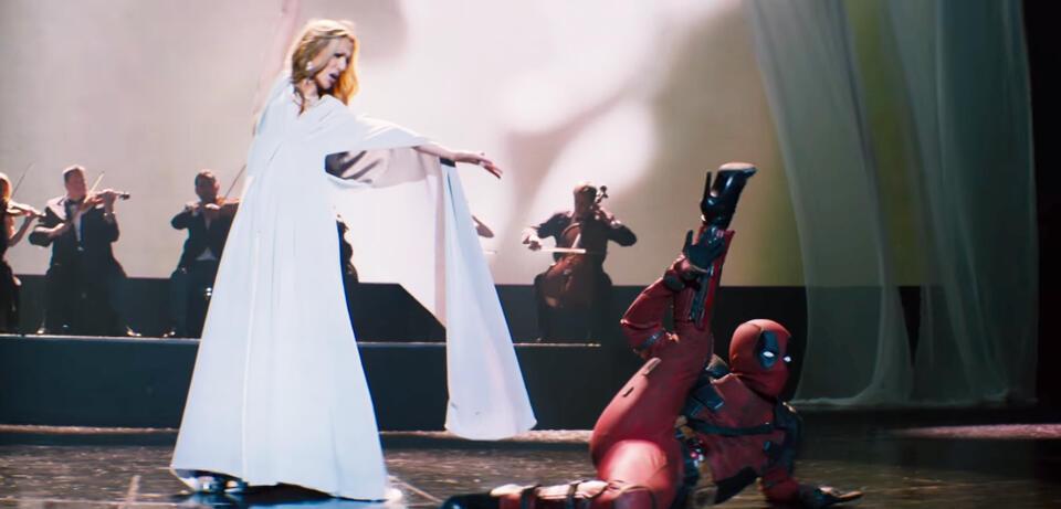 Celine Dion und Deadpool
