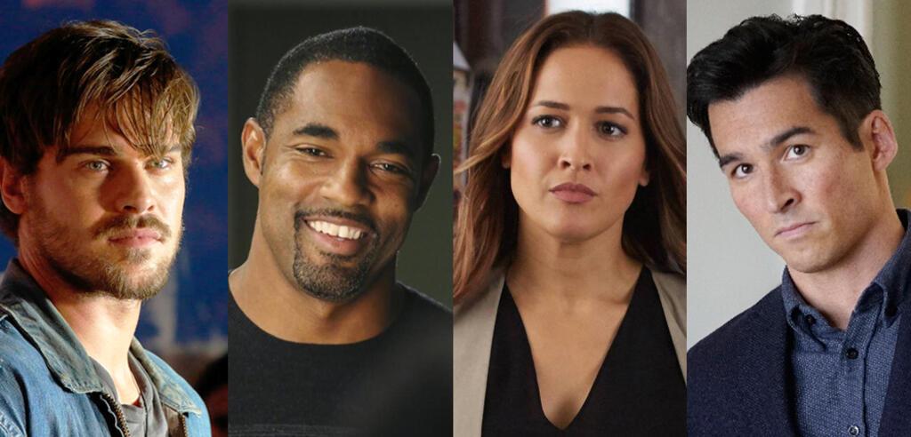 Grey's Anatomys Spin-off Besetzung: Grey Damon, Jason George, Jaina Lee Ortiz, Jay Hayden