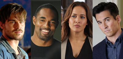 Grey's Anatomys Spin-off Besetzung: Grey Damon, Jason George, Jaina Lee Ortiz, Jay Hayden