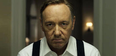 Kevin Spacey: nur echt mit Kamera-Blick in House of Cards