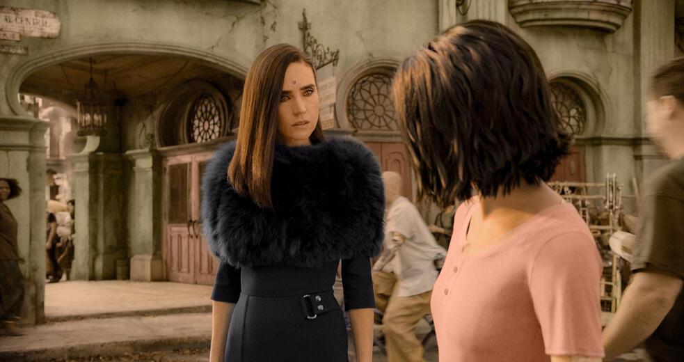 Alita: Battle Angel mit Jennifer Connelly und Rosa Salazar