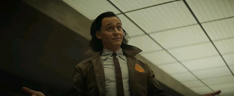 Loki, Loki - Staffel 1, Loki - Staffel 1 Episode 2 mit Tom Hiddleston