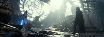 Daisy Ridley und Adam Driver in Star Wars 9: Der Aufstieg Skywalkers