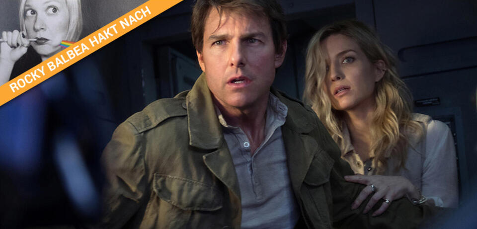 Tom Cruise guckt in den Abgrund
