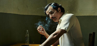 Wagner Moura als Pablo Escobar in Narcos