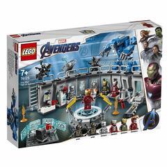 Das Lego-Set Iron Mans Werkstatt