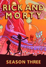 Rick and Morty - Staffel 3 - Poster