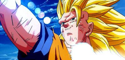Son-Goku als Dreifacher Super-Saiyajin im 13. DBZ-Kinofilm