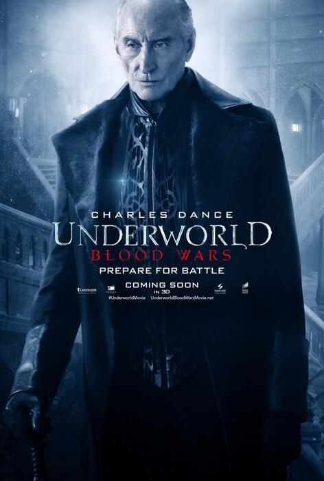 Underworld 5: Blood Wars mit Charles Dance