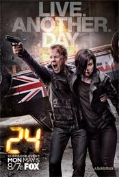 24: Live Another Day - Poster