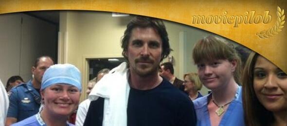 Christian Bale im Krankenhaus
