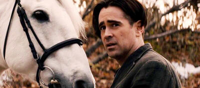 Colin Farrell mit Pferd in Winter's Tale
