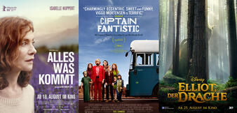 Alles was kommt/Captain Fantastic/Elliot, der Drache