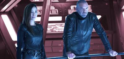 Georgiou und Leland von Section 31 in Star Trek: Discovery