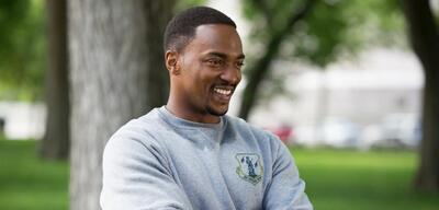 Anthony Mackie in The First Avenger: Civil War