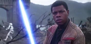 Bild zu:  John Boyega in Star Wars 7
