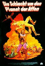 Die Schlacht um den Planet der Affen - Poster