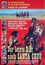 Der letzte Ritt nach Santa Cruz - Poster