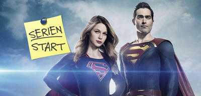 Supergirl startet mit Superman in die 2. Staffel auf The CW
