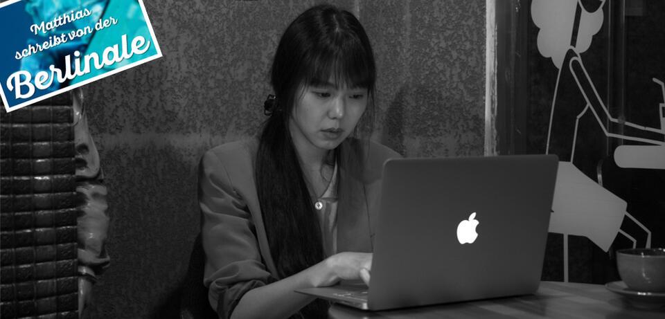 Kim Min-hee in Grass von Hong Sang-soo