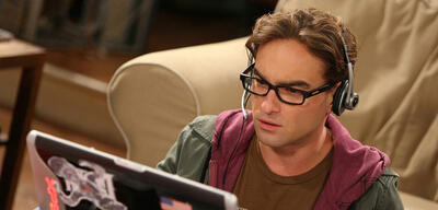 Johnny Galecki aus The Big Bang Theory