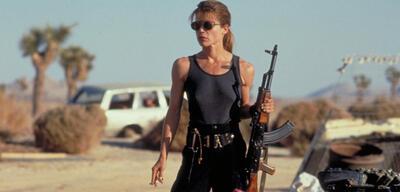 Linda Hamilton in Terminator 2 - Tag der Abrechnung