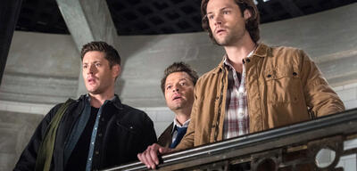 Supernatural: Dean, Castiel und Sam