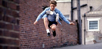 Jamie Bell in Billy Elliot